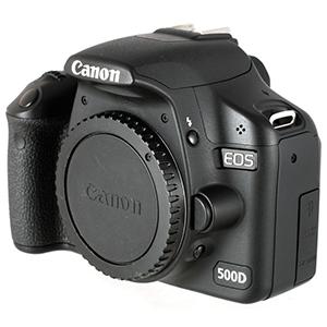 Ремонт зеркальных фотоаппаратов Canon 500D, основные неисправности сроки и цены