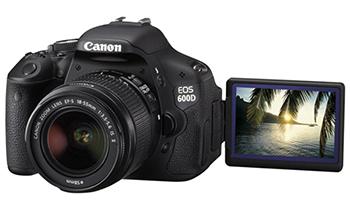 Ремонт фотоаппаратов Canon EOS 600D, основные неисправности сроки и цены