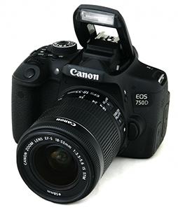 Ремонт фотоаппаратов Canon EOS 750D, неисправности сроки ремонта и цены