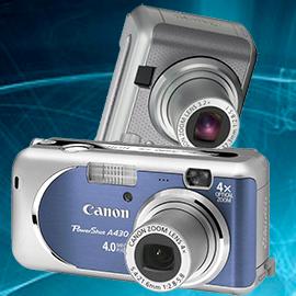 Ремонт фотоаппаратов Canon powershot a410, a430 в Москве