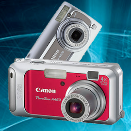 Ремонт фотоаппаратов Canon powershot a460, a470