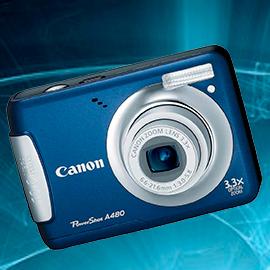 Стоимость и ремонт фотоаппаратов Canon powershot a480