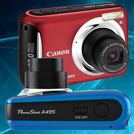 Стоимость и ремонт фотоаппаратов Canon powershot a495