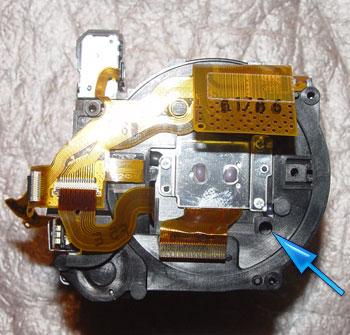 цифровые фотоаппараты canon powershot s2is - ремонт объектива