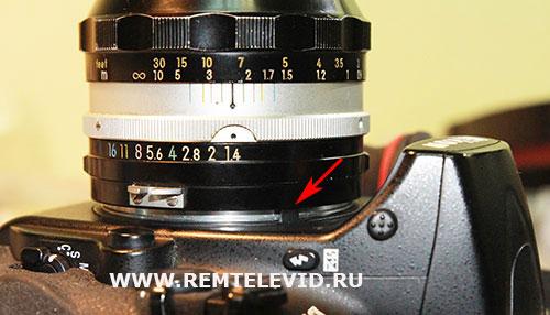 Попытка установить объектив для пленочных фотокамер на цифровые зеркальные фотоаппараты Nikon