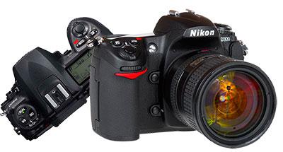 Ремонт зеркальных фотокамер nikon d200, d300 в Москве