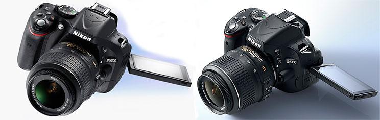 Ремонт зеркальных фотокамер nikon d5100, nikon d5200