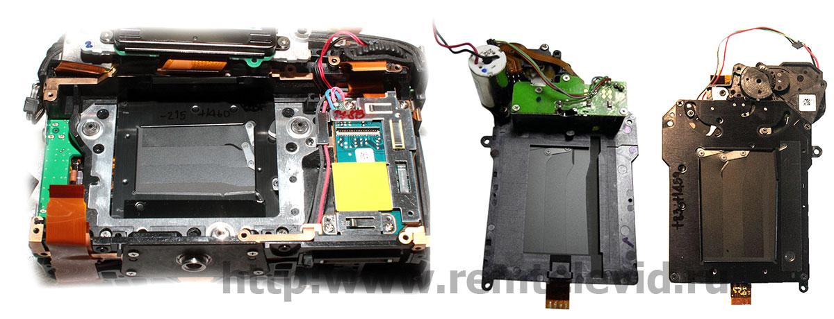 Неисправность и замена затвора в зеркальных фотокамерах Nikon D600, Nikon D610