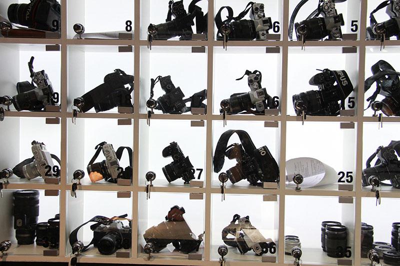 Стенд фототехники Олимпус на фотофоруме в Крокус-сити