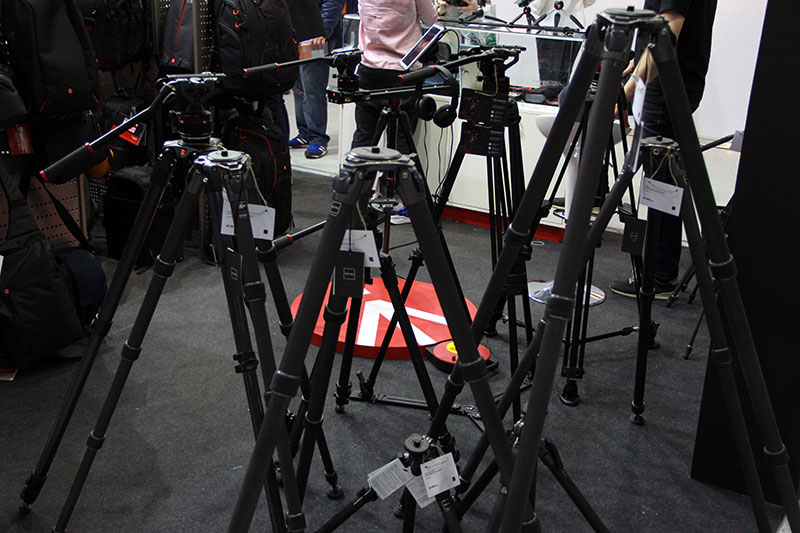 Штативы Manfrotto на выставке в Крокус-сити 2017