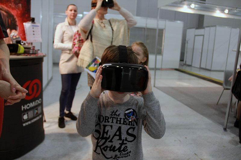 Очки виртуальной реальности в Крокус-сити