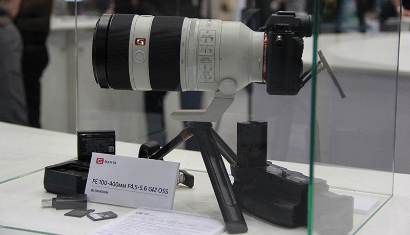 Объектив Sony 100-400mm GM OSS