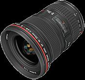 Профессиональные и стандартные объективы Canon