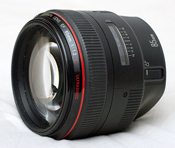 Объективы Canon EF 85 mm f/1.2 L USM, сроки и стоимость ремонта в Ремтелевид-сервис