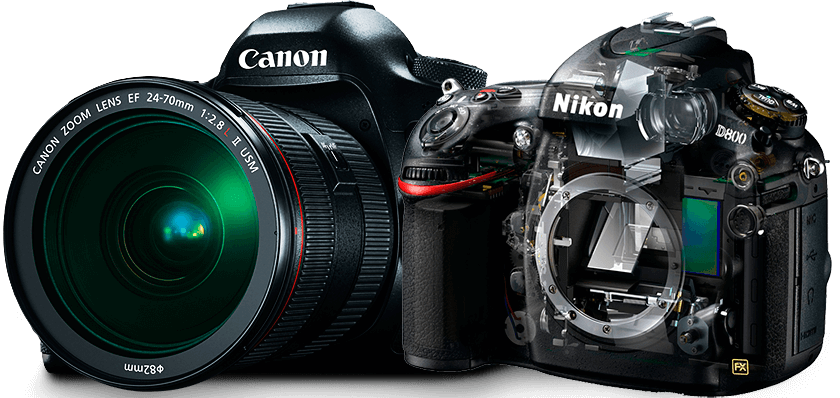 ремонт зеркальных фотокамер Canon, Nikon, Sony, Pentax, Samsung